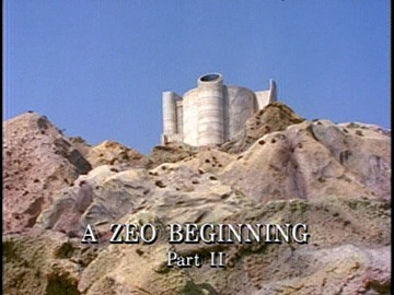"Episode Title Card for ""A Zeo Beginning Part II""."