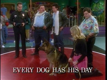 "Episode Title Card for ""Every Dog Has His Day"""