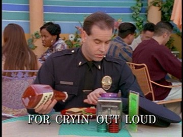 "Title Card for ""For Cryin' Out Loud""."