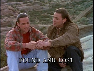 "Title Card for ""Found and Lost""."