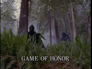 "Episode Title Card for ""Game of Honor"""