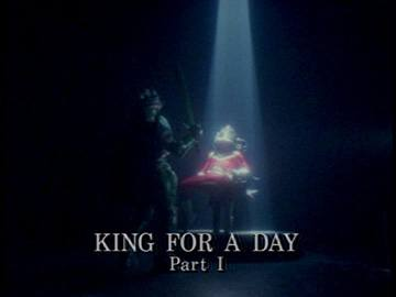 "Title Card for ""King for a Day Part I""."