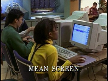 "Episode Title Card for ""Mean Screen"""