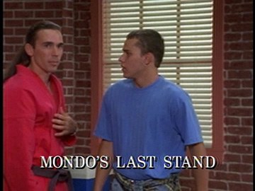 "Episode Title Card for ""Mondo's Last Stand"""