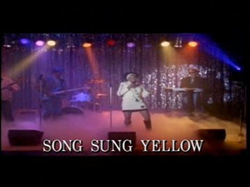 "Title Card for ""Song Sung Yellow""."