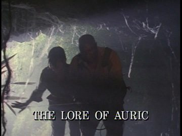 "Title Card for ""The Lore of Auric""."