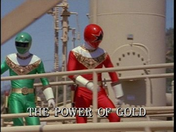 "Title Card for ""The Power of Gold""."