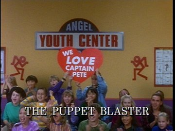 "Title Card for ""The Puppet Blaster""."