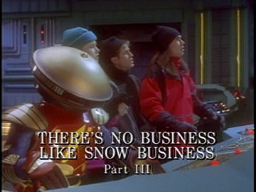 "Title Card for ""There's No Business like Snow Business Part III""."