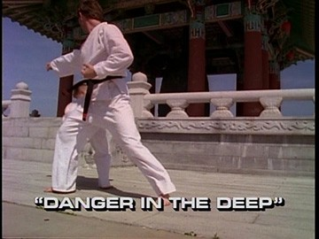 "Title Card for ""Danger in the Deep""."