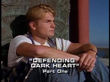 "Title Card for ""Defending Dark Heart, Part One""."