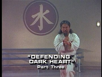 "Title Card for ""Defending Dark Heart, Part Three""."