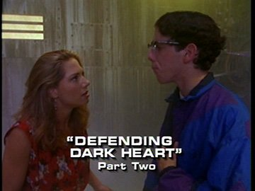 "Title Card for ""Defending Dark Heart, Part Two""."