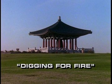 "Title Card for ""Digging For Fire""."
