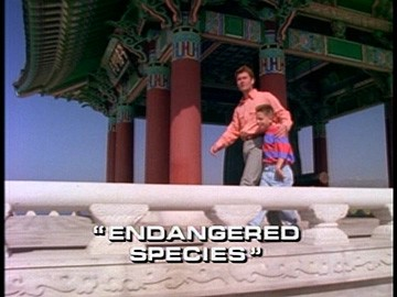 "Title Card for ""Endangered Species""."