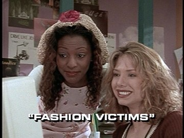 "Title Card for ""Fashion Victims""."