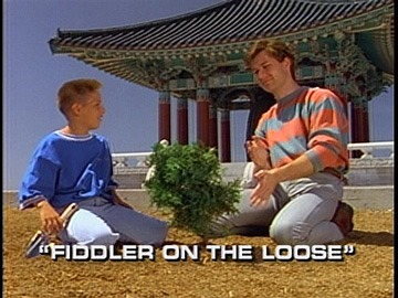 "Title Card for ""Fiddler on the Loose""."
