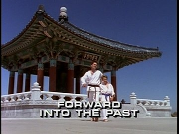 "Title Card for ""Forward Into the Past""."