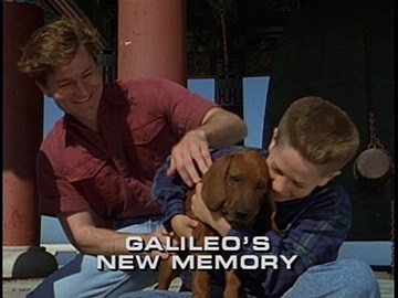 "Title Card for ""Galileo's New Memory""."
