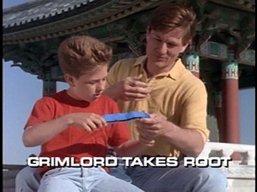 "Title Card for ""Grimlord Takes Root""."
