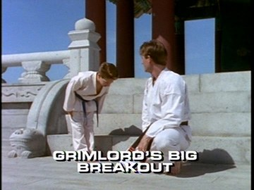 "Title Card for ""Grimlord's Big Breakout""."