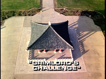 "Title Card for ""Grimlord's Challenge""."