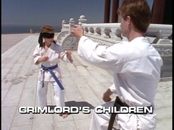 "Title Card for ""Grimlord's Children""."