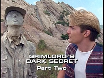 "Title Card for ""Grimlord's Dark Secret, Part Two""."