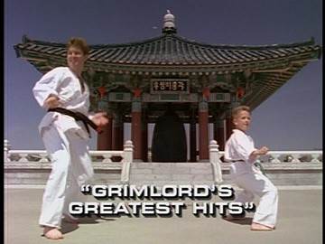 "Title Card for ""Grimlord's Greatest Hits""."