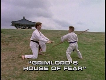 "Title Card for ""Grimlord's House of Fear""."