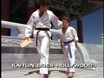 "Title Card for ""Kaitlin Goes Hollywood""."