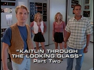 "Title Card for ""Kaitlin Through the Looking Glass, Part Two""."