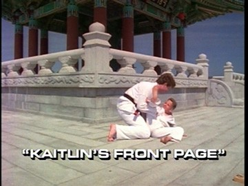"Title Card for ""Kaitlin's Front Page""."