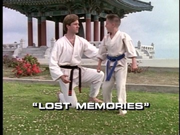 "Title Card for ""Lost Memories""."