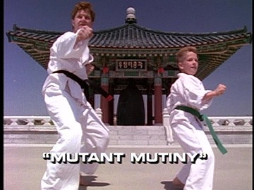 "Title Card for ""Mutant Mutiny""."