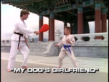 "Title Card for ""My Dog's Girlfriend""."