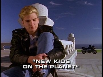 "Title Card for ""New Kids on the Planet""."