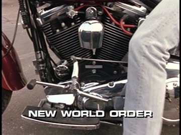 "Title Card for ""New World Order""."