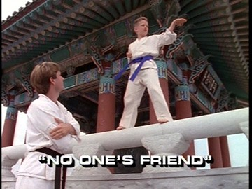 "Title Card for ""No One's Friend""."