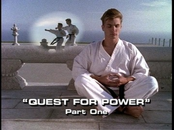 "Title Card for ""Quest For Power, Part One""."
