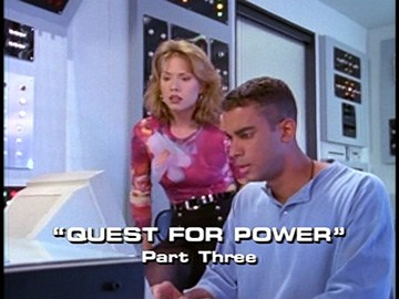 "Title Card for ""Quest For Power, Part Three""."