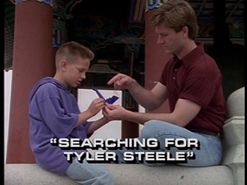 "Title Card for ""Searching For Tyler Steele""."