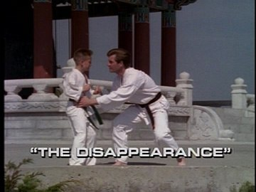 "Title Card for ""The Disappearance""."