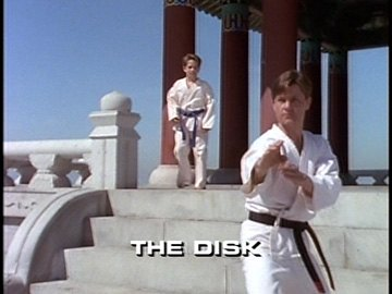 "Title Card for ""The Disk""."