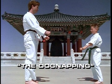 "Title Card for ""The Dognapping""."