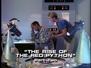 "Title Card for ""The Rise of the Red Python, Part Two""."