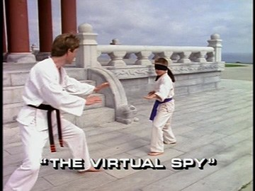 "Title Card for ""The Virtual Spy""."