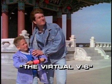 "Title Card for ""The Virtual V-6""."