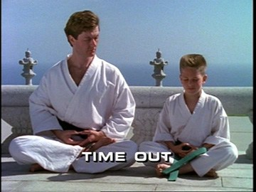 "Title Card for ""Time Out""."