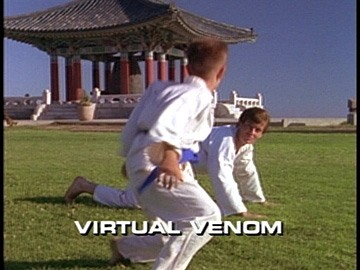"Title Card for ""Virtual Venom""."